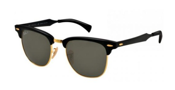 RAY BAN RB 3507 CLUBMASTER ALUMINUM
