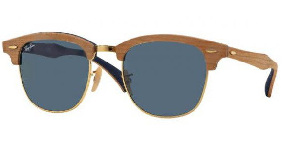 RAY BAN RB 3016M CLUBMASTER WOOD