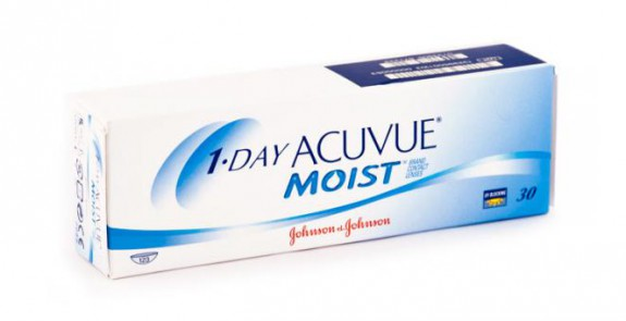 JOHNSON & JOHNSON ONE DAY ACUVUE MOIST