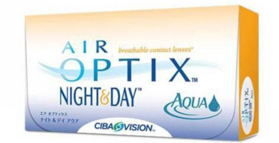 Lentilles ALCON AIR OPTIX NIGHT & DAY AQUA