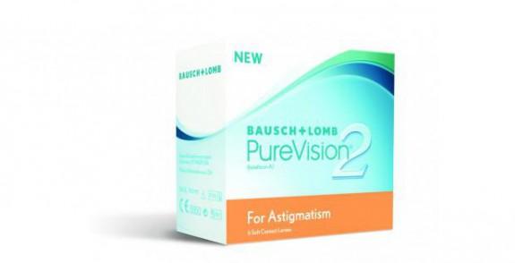 Lentilles BAUSH&LOMB PureVision 2 HD pour Astigmate
