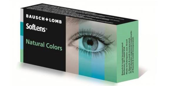 Lentilles BAUSH&LOMB SofLens Natural Colors AQUAMARINE