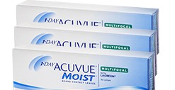JOHNSON & JOHNSON ONE DAY ACUVUE MOIST MULTIFOCA