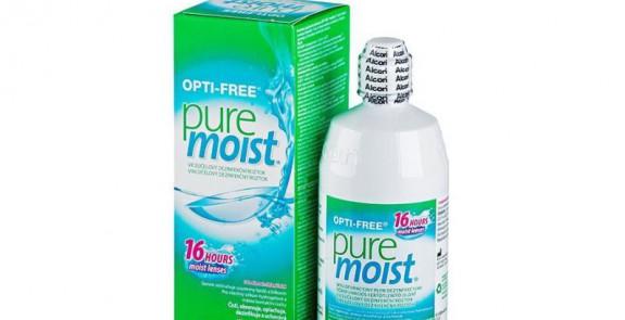 Produits lentilles OPTI-FREE PureMoist