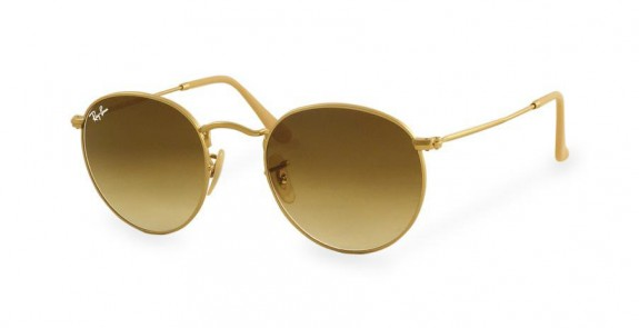 Lunettes de soleil RAY BAN RB 3447 ROUND METAL 112/51