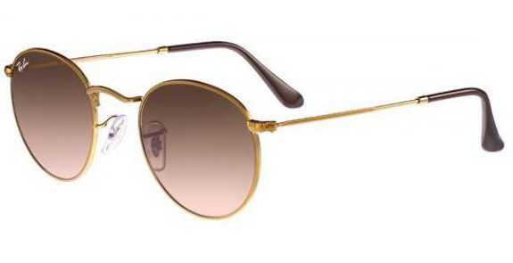 Lunettes de soleil RAY BAN RB 3447 ROUND METAL 9001A5