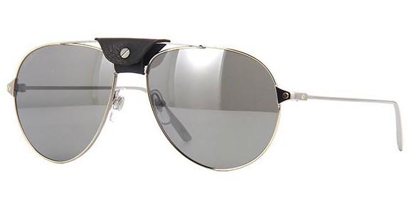 lunettes de soleil cartier calvi fop t8200760. Black Bedroom Furniture Sets. Home Design Ideas