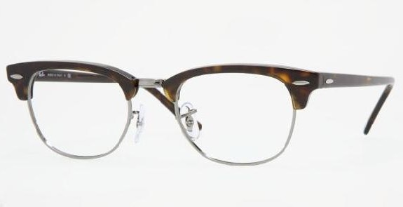 Lunettes de vue RAY BAN RB 5154 CLUBMASTER 2012