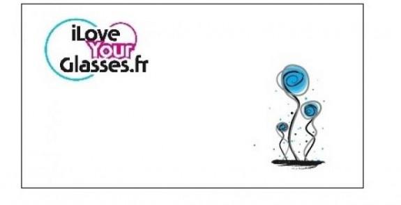 iLoveYourGlasses Joli coquelicot
