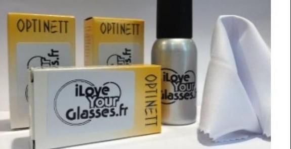 iLoveYourGlasses Kit Entretien Haut de Gamme